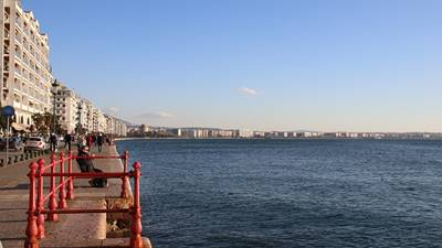 Thessaloniki waterfront, Greece