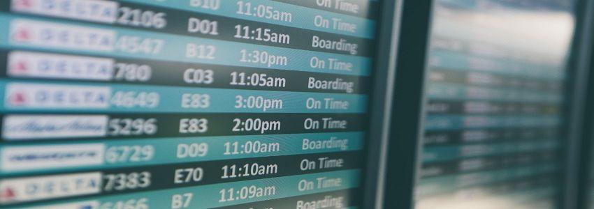 flight canceled delayed